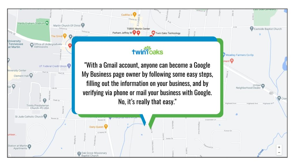 Gmail, Google My Business, Ranking, Rank, Local SEO