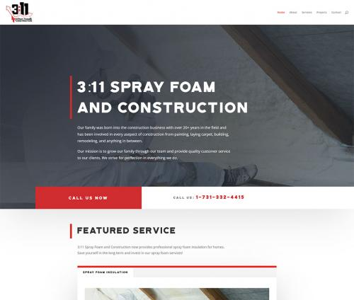 311-Sprayfoam and Construction