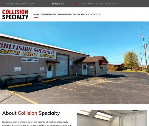 Collision Specialty